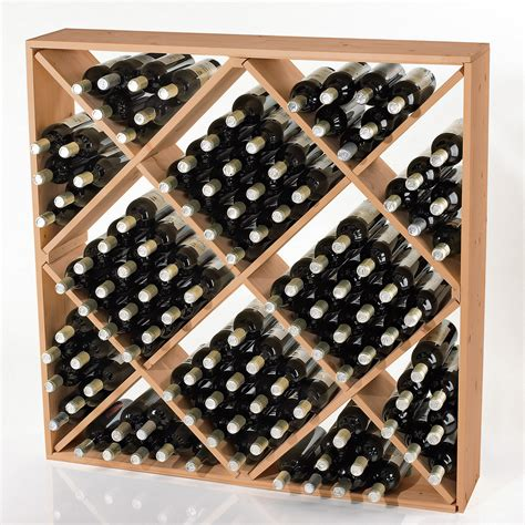 wood and iron table types of beautiful wine racks for your home ideas 4 homes