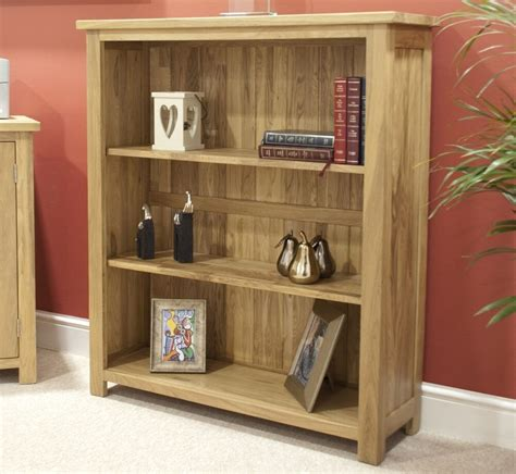 Small Office Bookcase by Eton Solid Oak Modern Furniture Small Living Room Office