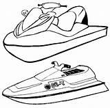 Printable Ski Coloring Jet Colorier Chakiradecor Fond Coloringpagesfortoddlers Enregistree Depuis sketch template
