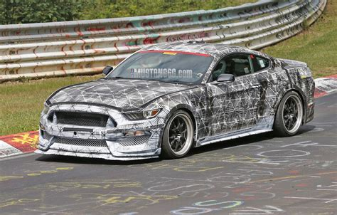 2015 Mustang Gt Nurburgring Time by New Svt Gt350 Mustang S550 Undresses At Nurburgring