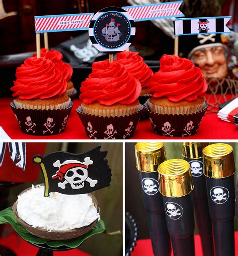 Pirates Of The Caribbean Birthday Party Pizzazzerie