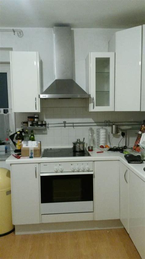küche l form gebraucht k 252 che wei 223 hochglanz l form in m 252 nchen k 252 chenzeilen anbauk 252 chen kaufen und verkaufen 252 ber