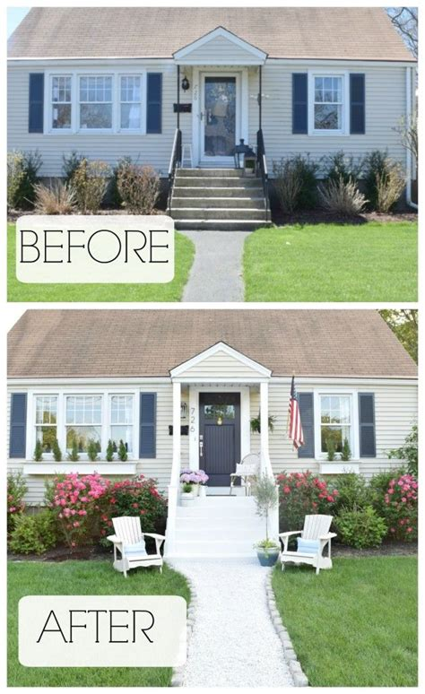 Summer Home Tour Exterior Reveal  Blogger Home Projects