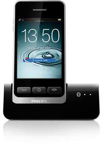 philips design telefon digital cordless phone with mobilelink s10a 05 philips