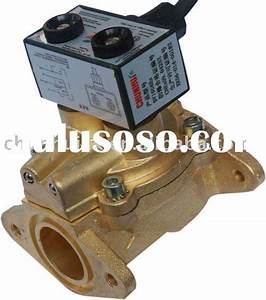 Dual Flow Solenoid Valve For Diesel And Fuel Dispenser In