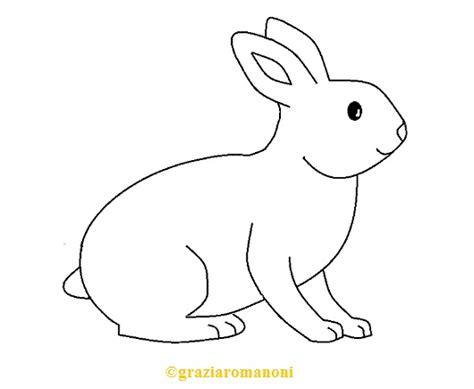 Animali Da Cortile Da Colorare by Disegni Da Colorare Animali Il Coniglio Mondofantastico