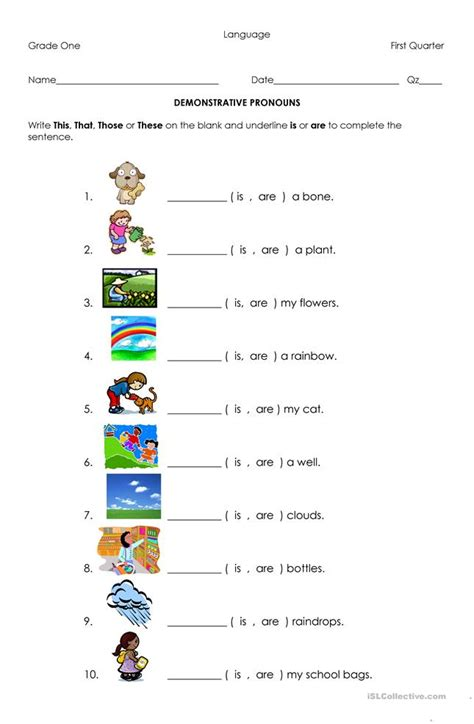 demonstrative pronouns worksheet free esl printable worksheets made by teachers