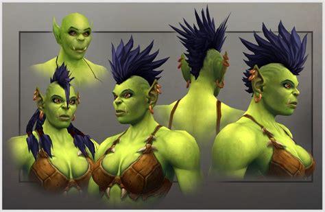 world  warcraft  female orc model revealed ign