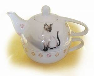 Théière Avec Tasse : cadeaux theiere egoiste chats ~ Teatrodelosmanantiales.com Idées de Décoration