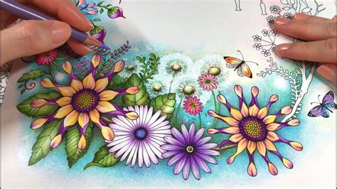 world  flowers part  flowers coloring youtube