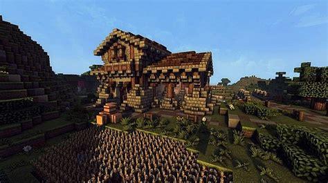 medieval farm minecraft building