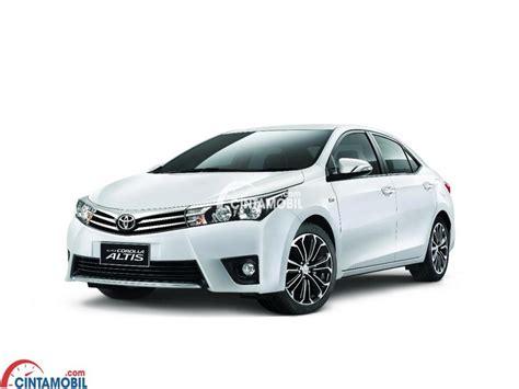 Gambar Mobil Toyota Corolla Altis by Spesifikasi Toyota Corolla Altis 1 8 V 2014 Wajah Baru