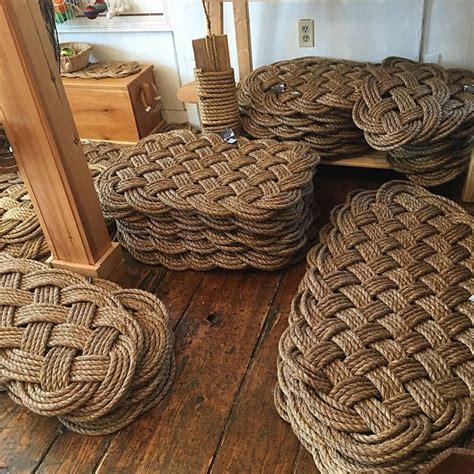 Nautical Rope Doormat by 1000 Ideas About Nautical Rope On Rope Knots