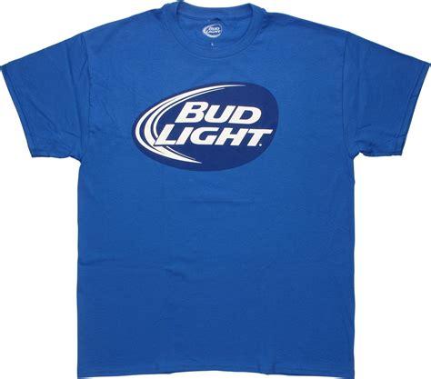 bud light t shirt bud light oval logo t shirt