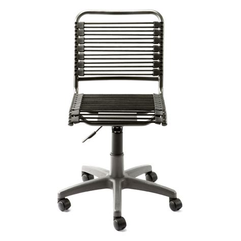 black bungee office chair the container store