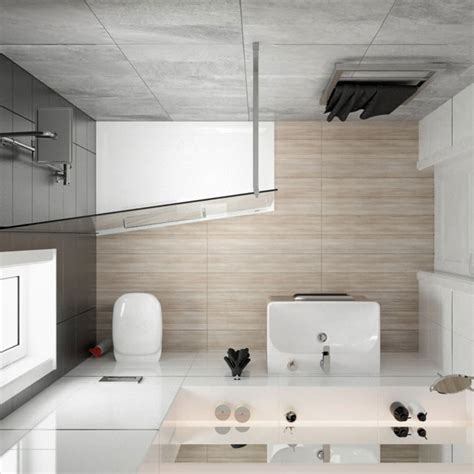 Dynamisch Kleine Badezimmer Design Idee Für Das Trendy