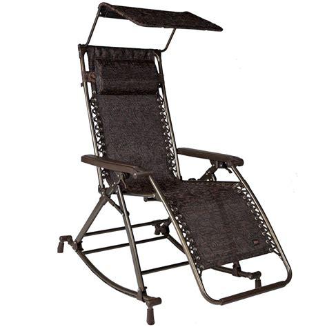 bliss hammock chair bliss hammocks zero gravity rocking recliner w canopy