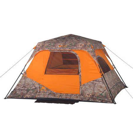 ozark trail 6 person instant cabin tent ozark trail x realtree xtra 6 person instant cabin tent