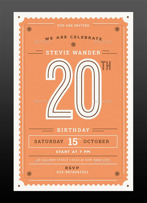 birthday invitation templates psd designyep
