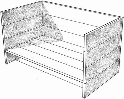 Single Judd Furniture Donald Daybed Bed Chips