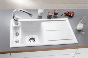 Laola von villeroy boch 60 einbauspule 50 for Küchenspülbecken