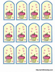 free printable birthday favor tags With how to print tags for favors