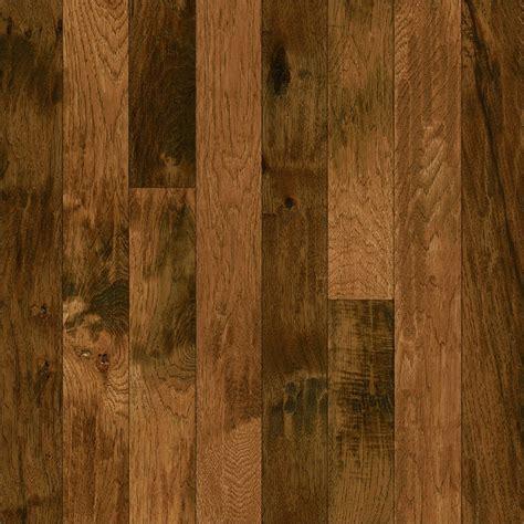Shop Bruce Hickory Hardwood Flooring Sample (yukon Gold