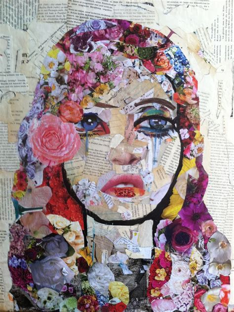 Collage Kunst Ideen by Mixed Media Cg Collage Mixed Media