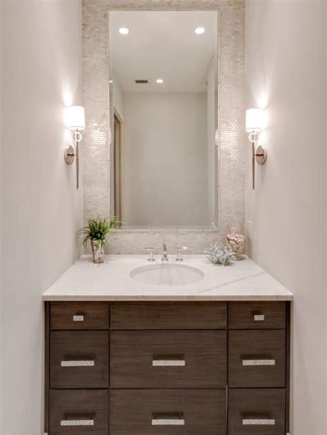 powder room mirror powder room contemporary with bathroom powder room design ideas remodels photos
