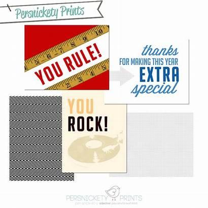 Appreciation Teacher Week Persnickety Prints Teachers