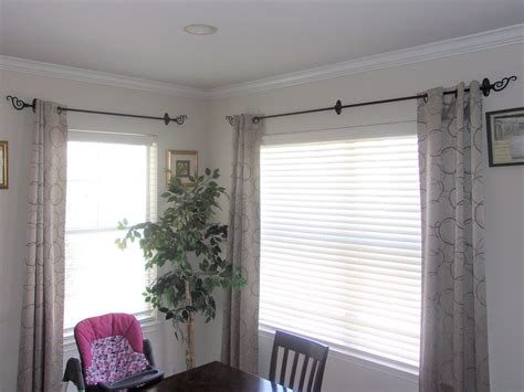 how to hang curtains without drilling a curtain