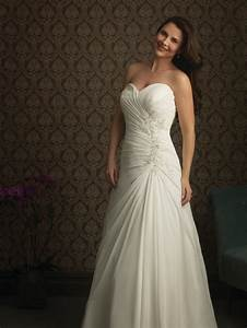 vestido de noiva 2015 sexy plus size sweetheart strapless With chiffon plus size wedding dress