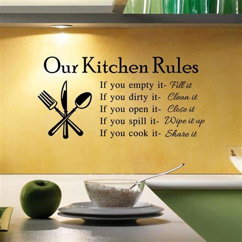 New Hot Diy Kitchen Rules Quote Wall Sticker Creative. Kitchen Island Kijiji Calgary. Kitchen Door Fronts Leicester. Green Kitchen App. Kitchen Design Plus. Kitchen Rug Orange. Kitchen Tiles In Hyderabad. Kitchen Dark Counter Light Cabinets. Blue Kitchen Rugs Washable