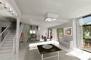 Maison En L Moderne : maison quevert archionline ~ Melissatoandfro.com Idées de Décoration