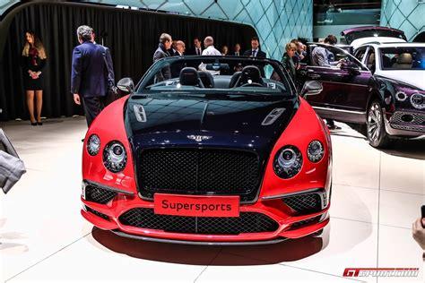 bentley continental gt supersport geneva 2017 bentley continental supersports coupe convertible gtspirit