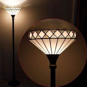 almeria tiffany torchiere floor lamp With tiffany floor lamp repair