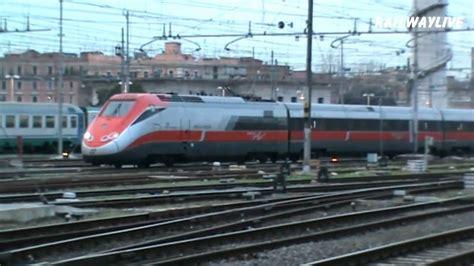 Freccia Rossa Eurostar Etr 500 Servicing Roma Termini (hd