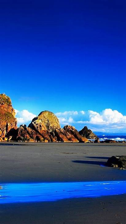 Wallpapers Ocean Beach Android Tablet Stones Rocks