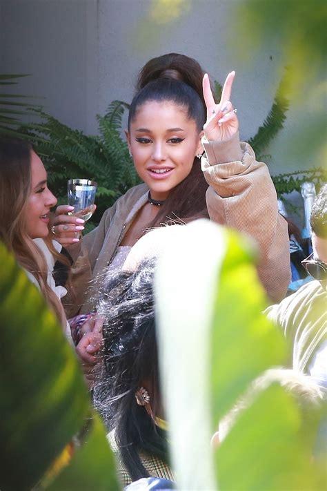 Ariana Grande Celebrates Thank Next Hitting