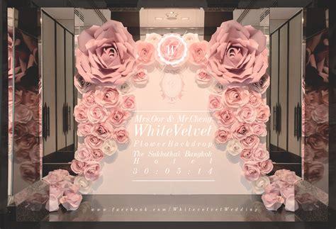 wedding background wedding backdrop decoration velvet is white