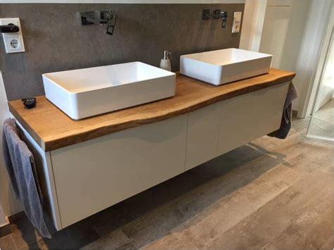Waschtisch Holz Mit Aufsatzwaschbecken by Waschtisch F 252 R Aufsatzwaschbecken Aus Holz Waschtisch Aus