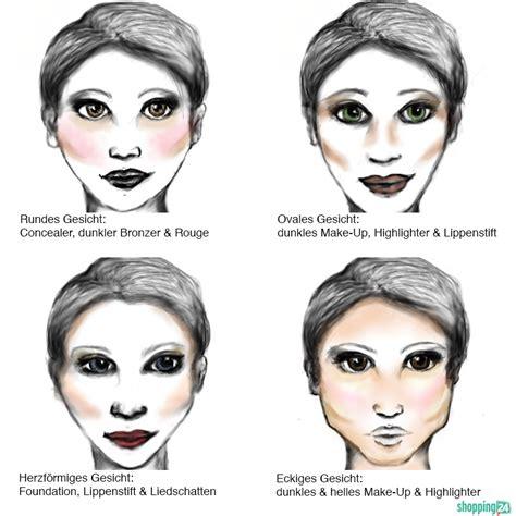 Schminktipps für alle Gesichtsformen MakeUpTipps