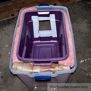 How to build a diy insulated outdoor cat shelter catster for How much does it cost to build a dog house