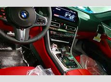 BMW Série 8 voici sa planche de bord