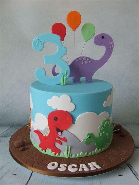 dinosaur cakes images  pinterest dinosaur