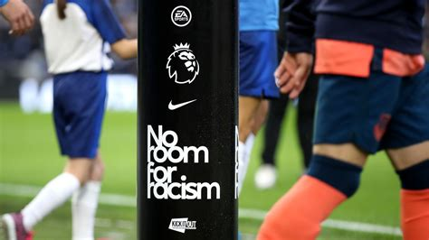 Premier League players to wear 'No Room For Racism' badges ...