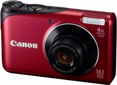 Canon Aparat A2200 2200 Powershot Manualidades Rood