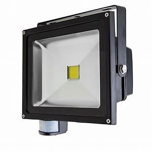 High power w led flood light fixture with motion sensor