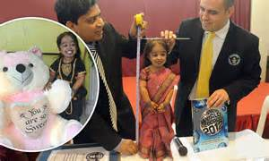 indian declared worlds shortest woman jyoti amge dreams  bollywood daily mail