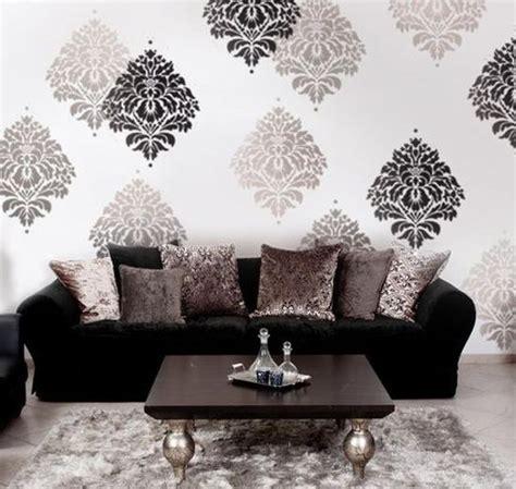 modern ideas  interior decorating  stencils